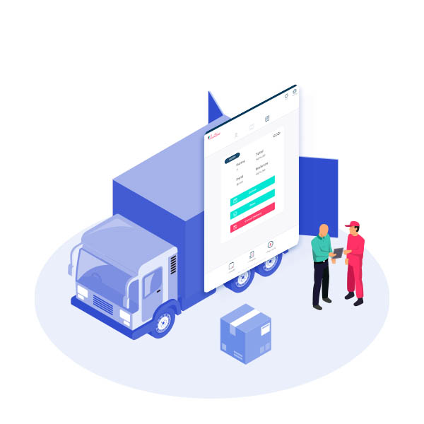 Listaso app for delivery trucks